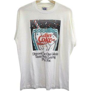 C81 Vintage America's Finest Diet Coke White Shirt